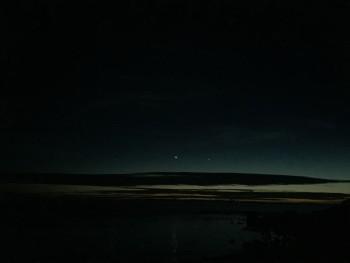 瀬長島-夜景-星空